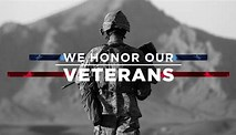 Image result for Honoring Our Veterans