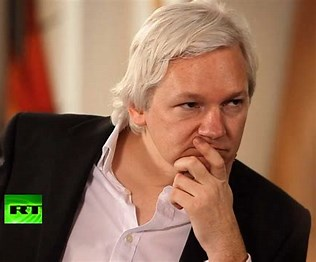 Image result for Julian Assange and Russia