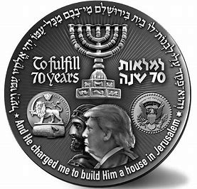 Image result for Cyrus coin trump
