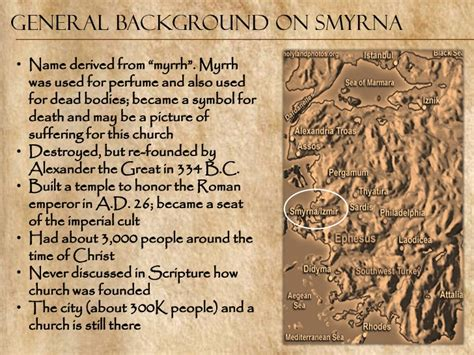 Image result for the church of Smyrna