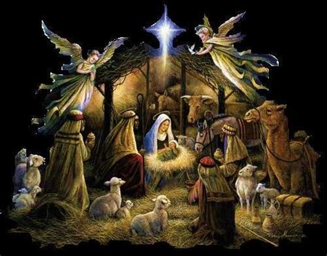 Image result for Jesus in a Manger