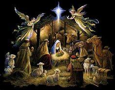 Image result for Jesus in a Manger