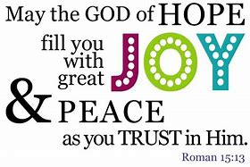 Image result for Romans 15:13