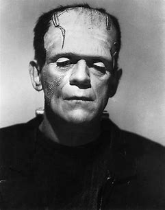 Image result for images of boris karloff as frankenstein