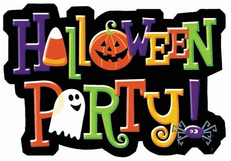 Image result for halloween party clip art