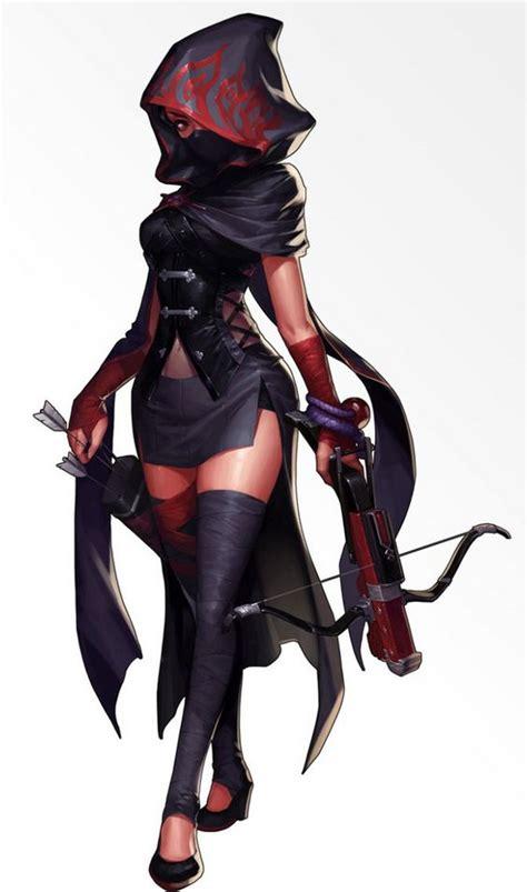 Image result for anime girl shadow ninja