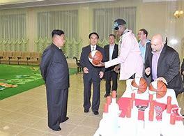Image result for Kim Jong Un Playing Ball