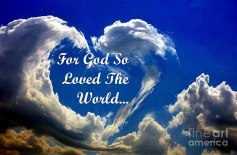 Image result for God so loved the world