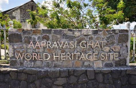 Résultat d'images pour aapravasi ghat maurice