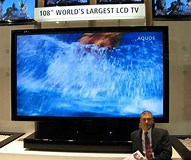 Image result for largest TV Screens. Size: 191 x 160. Source: thefutureofthings.com