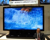 Image result for largest TV Screens. Size: 199 x 160. Source: thefutureofthings.com