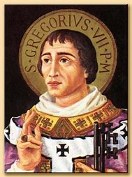 Image result for Fre pictures of POPe St Gregory VII
