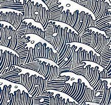 Image result for Japanese Ocean Art