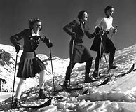 Image result for historic skis