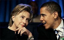 Image result for flickr commons images Hillary Clinton and Obama