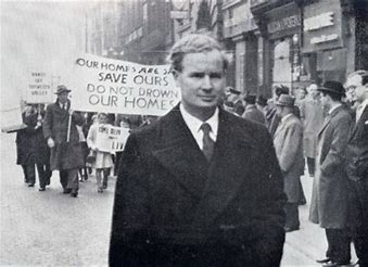 Image result for tryweryn campaign march through liverpool images