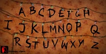 Image result for Stranger Things Alphabet GIF. Size: 194 x 100. Source: gifimage.net