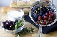 Image result for Free Picture of Olives and Figs and Grapes. Size: 157 x 104. Source: smittenkitchen.com