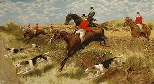 Image result for images proper english hunting scene