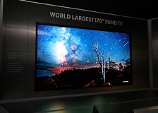 Image result for World's largest TV. Size: 224 x 160. Source: www.ibtimes.co.uk
