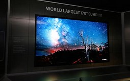 Image result for largest TV Screens. Size: 255 x 160. Source: www.ibtimes.co.uk