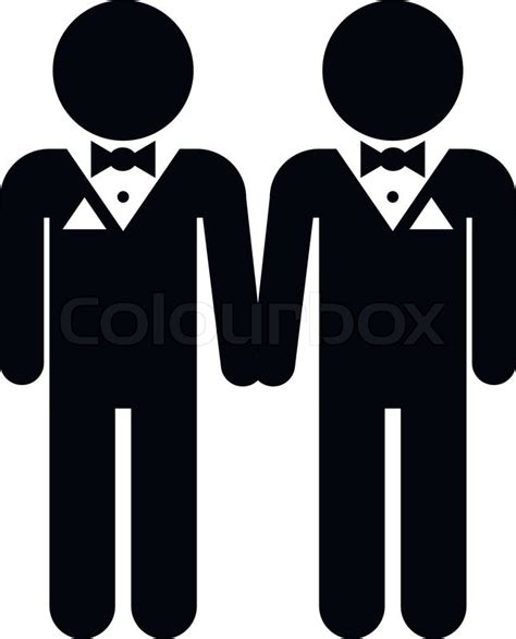 Image result for Gay Wedding Suits Clip Art