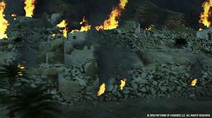 Image result for Joshua burns down Jericho in the bible