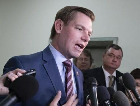 Image result for eric swalwell upset