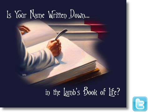 Image result for Lamb's Book of Rememberance
