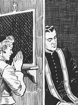 Image result for images catholic confessional