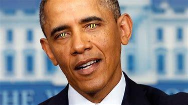 Image result for images of evil obama