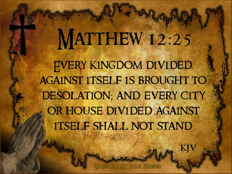 Image result for A divided kingdom cannot stand