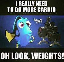 Image result for morningfitness cardio  routine meme