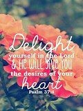 Image result for desires of your heart scripture