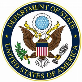 Image result for US Dept of State Logo. Size: 204 x 204. Source: en.wikipedia.org