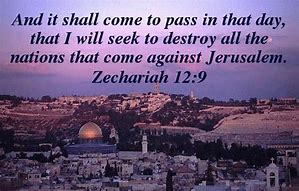 Image result for Zechariah 12:9
