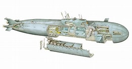 Image result for Typhoon class submarine High Resolution. Size: 209 x 110. Source: www.reddit.com