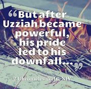 Image result for what can we learn from Uzziah