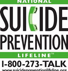 Image result for image of national suicide prevention line