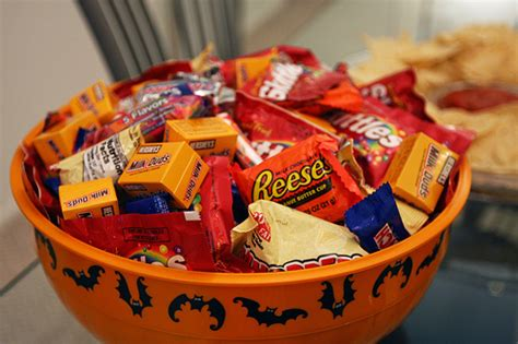 Image result for images for a bowl of halloween candy