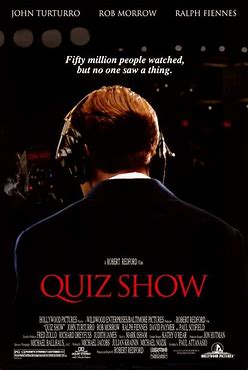 Image result for movie poster quiz show