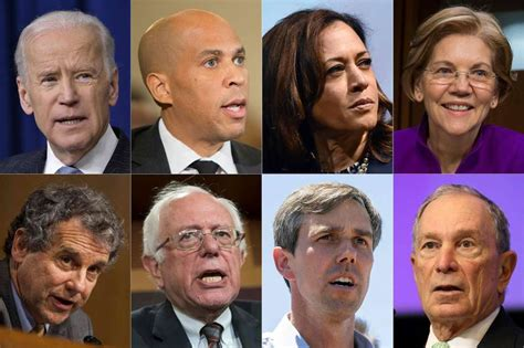Image result for images of 2020 democrat presidential candidates