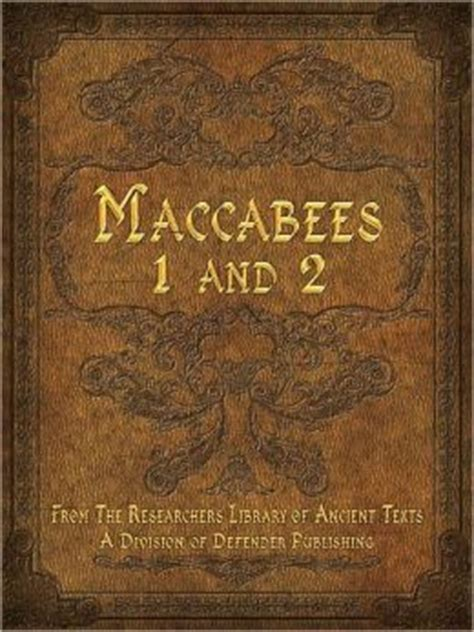 Image result for The Book of Maccabees