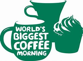 Image result for macmillan coffee morning clipart