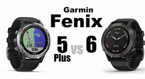 Image result for compare garmin fenix 5 and 6. Size: 294 x 160. Source: www.buffcoach.net