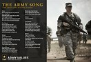 Image result for What is the official army song?