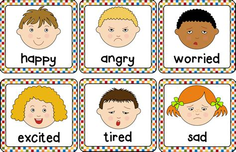 Image result for feelings clipart