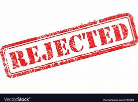 Image result for Rejection Symbol Black Background