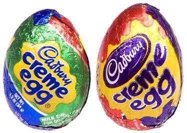 Image result for white creme egg