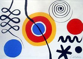 Résultat d'images pour peinture Calder